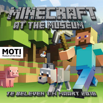 Uitstapjes: Minecraft at the Museum!