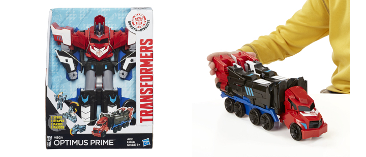 Review : Mega Optimus Prime van Hasbro